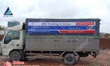 Dán quảng cáo trên bạt xe tải giá rẻ tại TP.HCM