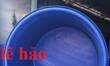 Thùng nhựa dung tích lớn, thùng chứa nước, thùng nhựa hình tròn, thùng