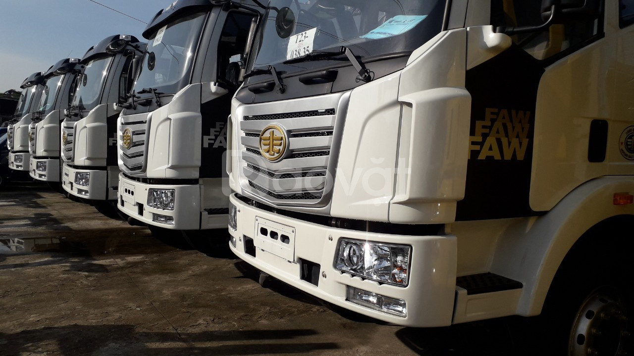 Xe Faw 7 tấn 2 thùng dài 9.7m, xe Faw thùng dài nhập khẩu