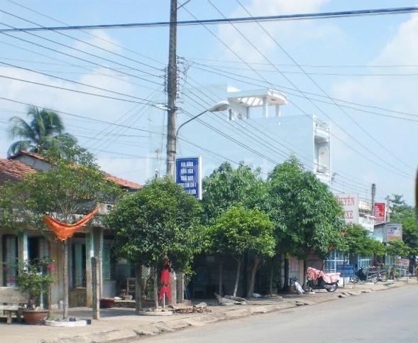 Bán nhà mặt tiền 3 lầu Tầm Vu, Châu Thành, Long An