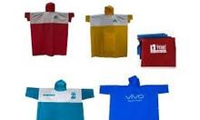 Sản xuất các loại áo mưa cánh dơi  in logo tại Quảng Ngãi