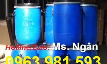 Cung cấp vỏ thùng phuy nhựa, thùng phuy nhựa 220 lít cũ và mới