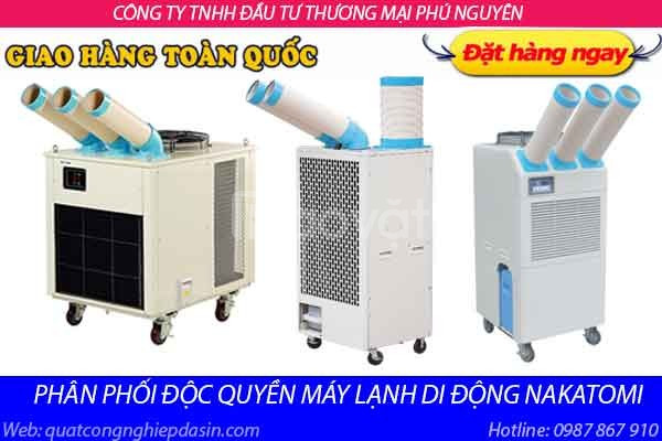 Gía chuẩn máy lạnh di động Nakatomi