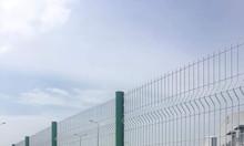Hàng rào chấn sóng trên thân, hàng rào mạ kẽm sơn tĩnh điện
