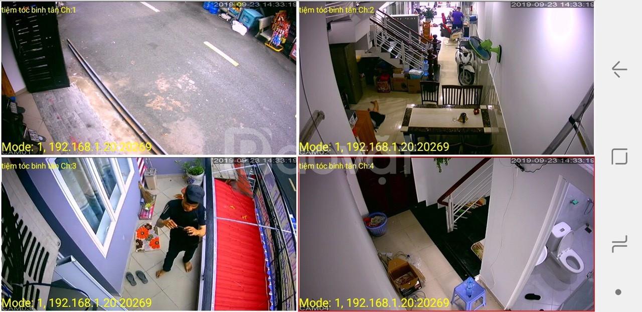 Trọn bộ 7 camera Global full HD 2.0M (giá 8.850.000).