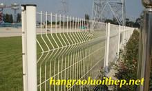 Hàng rào mạ kẽm, hàng rào mạ kẽm chấn sóng, gập đầu