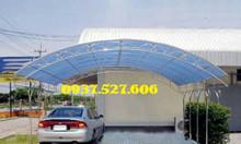 Thi công làm mái tôn vòm nhà xe