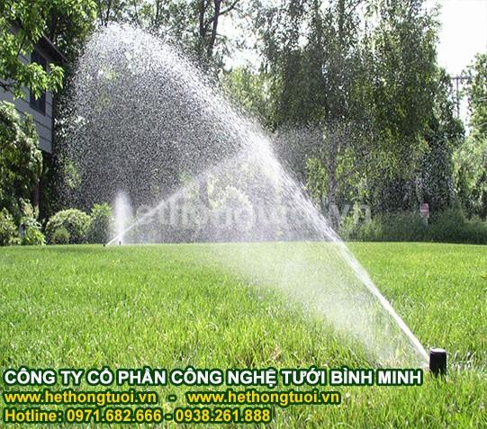 Hệ thống tưới sân vườn,béc phun tưới cỏ, béc phun tưới cây,béc phun