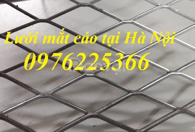 Lưới thép kéo giãn lưới thép hình thoi