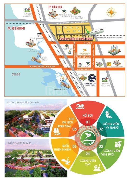 Mở đặt chỗ đợt 1 đất nền Long Thành Airport Village