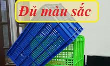 Sóng nhựa rỗng, sọt nhựa HS004, rổ nhựa công nghiệp, sọt nhựa