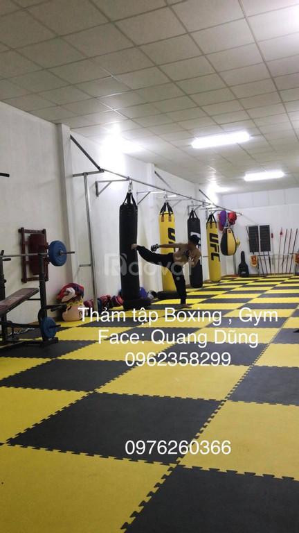 Thảm trải sàn phòng gym