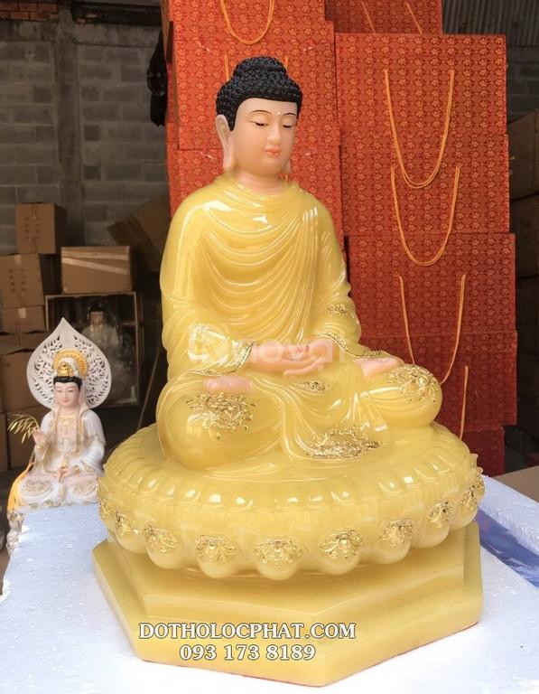Mẫu tượng Phật Thích Ca Mâu Ni đẹp bằng đá - Đồ thờ Lộc Phát