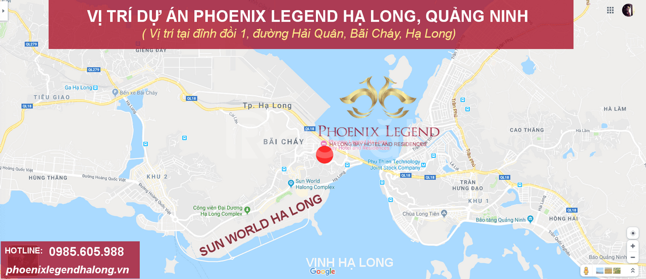 Phoenix Legend Hạ Long nghỉ dưỡng đẳng cấp được sở hữu lâu dài