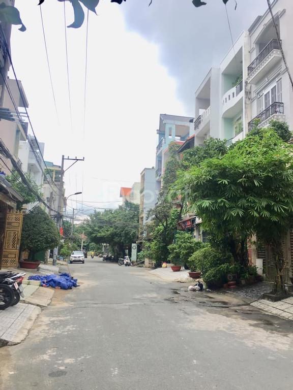Bán nhà khu phân lô đường D1, quận Bình Thạnh, 4 tầng, 70m2, 12,5 tỷ.
