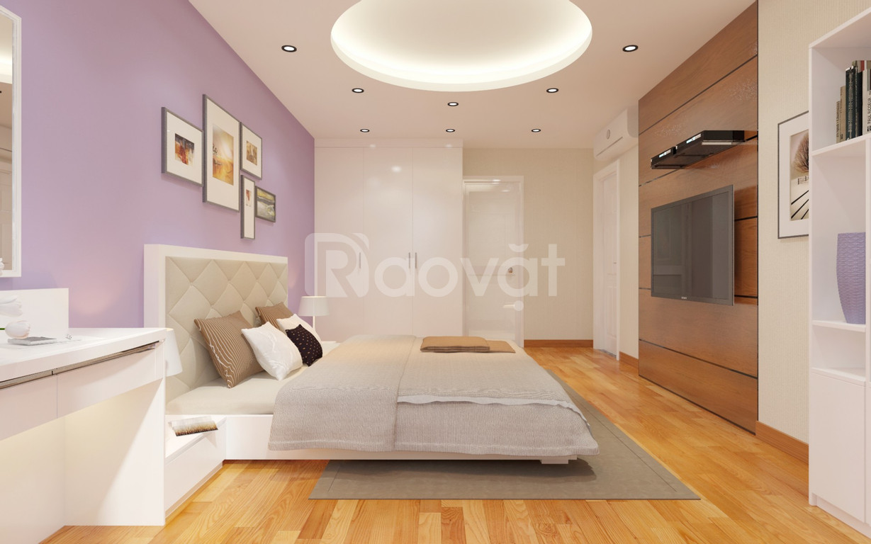 Bán căn hộ tầng 5 chung cư 25 Lạc Trung, HN.