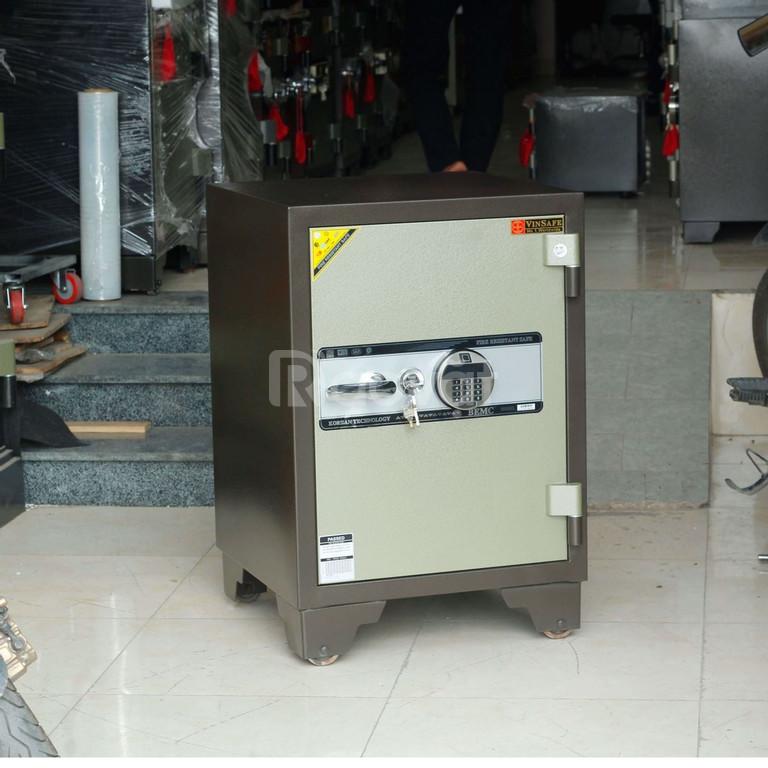 Két sắt Vinsafe HQ699 khóa vân tay điện tử Hàn Quốc