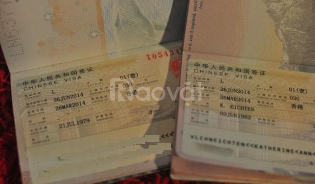 Dịch vụ làm visa du lịch Trung Quốc nhanh, vắng mặt