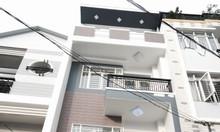 Nhà Phan Văn Hớn-Hóc Môn DT 5x20, 1 trệt 2 lầu, hẻm ô tô, giá 2 tỷ
