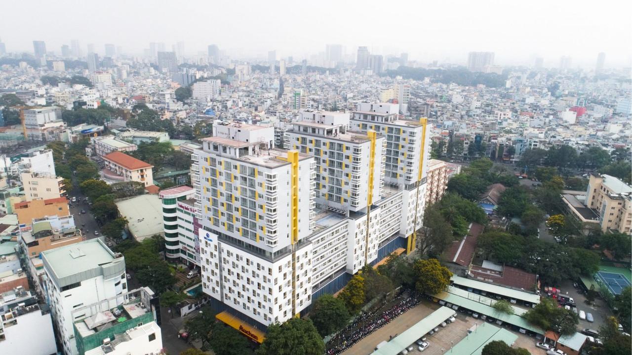 Cho thuê căn hộ officetel ngay Cao Thắng Q10.