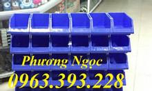 Khay linh kiện xếp chồng kệ dụng cụ xếp tầng, hộp nhựa đựng linh kiện