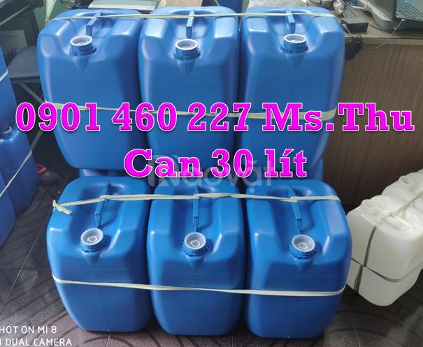 Can nhựa 30L ,can nhựa 30 lít TPHCM