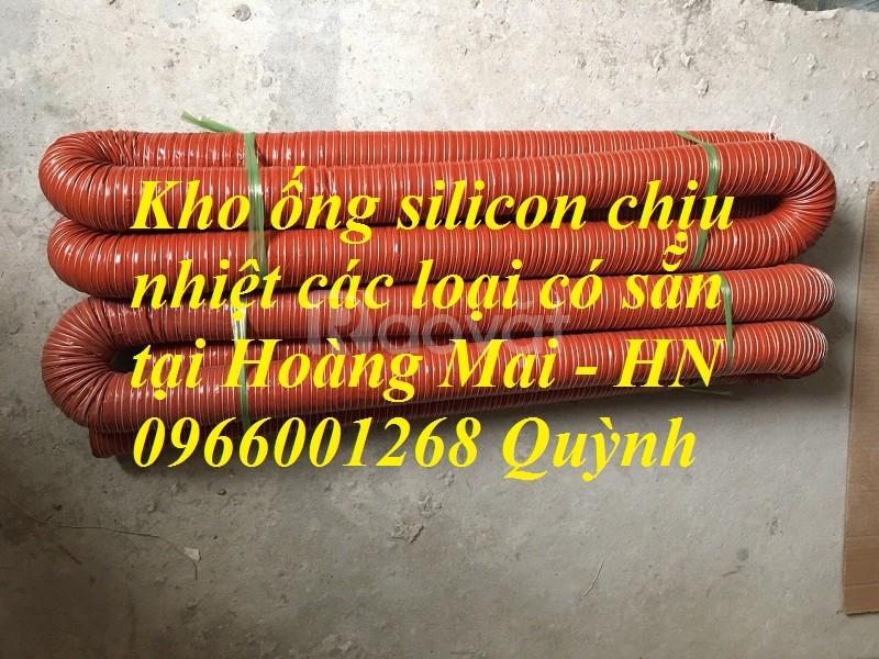 Ống silicone chịu nhiệt độ cao phi 150, ống silicon chịu nhiệt phi 100