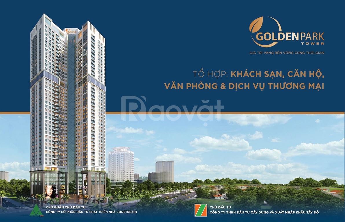 Dự án Golden Park Tower - Căn hộ cao cấp giá đầu tư