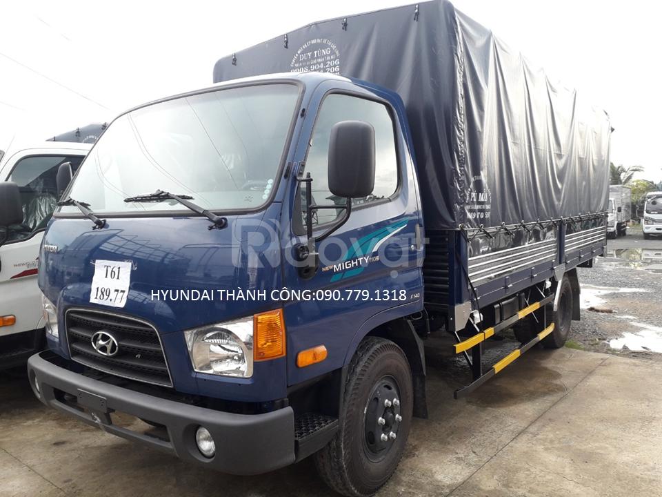 Hyundai mighty 110s tải trọng 6 tấn 9 thùng dài 4.8m