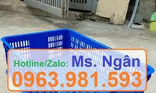 Sọt nhựa rỗng HS009, sóng nhựa hở HS009 giá rẻ tại Hà Nội