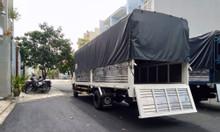 Xe tải isuzu 1t9 thùng 6m2 chuyên chở ống thép|Trả trước 120 triệu
