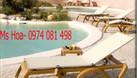 Ghế tắm nắng, ghế nằm ngoài trời, bàn ghế bể bơi (ảnh 5)