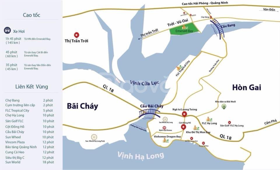 Đất nền mặt biển giá chỉ từ 8tr/m Hạ Long Quảng Ninh