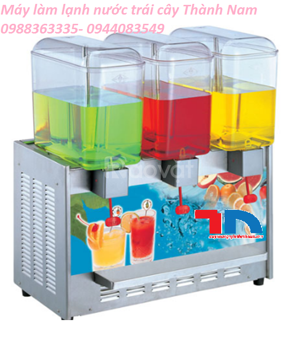 Tủ làm lạnh nước hoa quả, trái cây