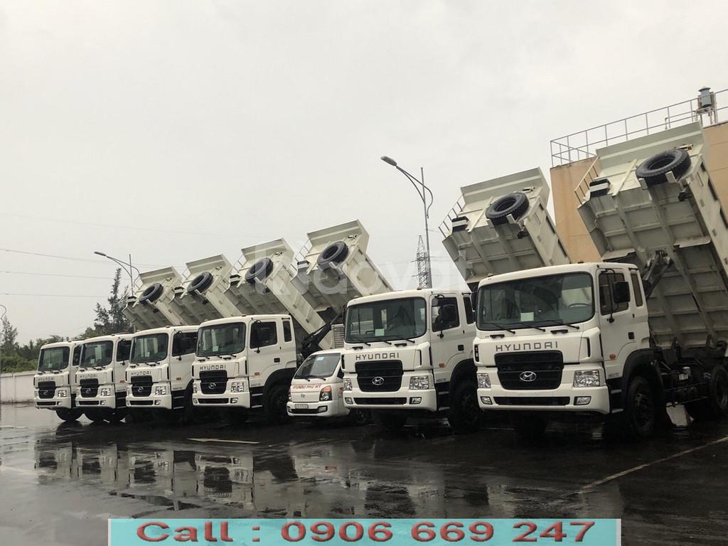 Xe Ben Huyndai hd 270 ga cơ nhập khẩu năm 2017