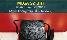 Máy trợ giảng không dây mega s2 uhf bộ mới- chính hãng