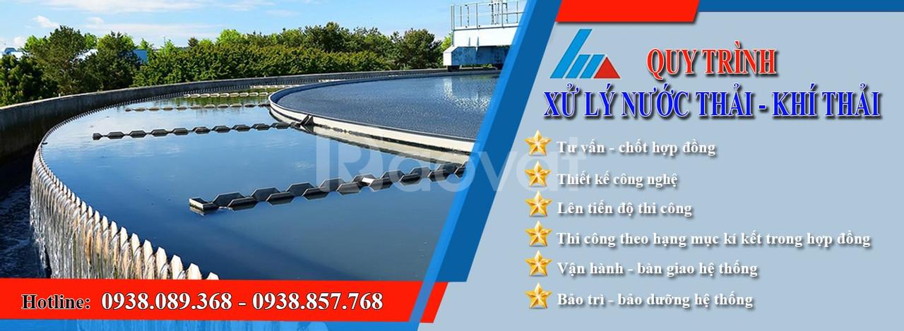 Công ty xử lý nước thải uy tín, chuyên nghiệp