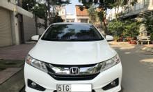 Cần bán xe Honda City 1.5AT, đời 2017, màu trắng