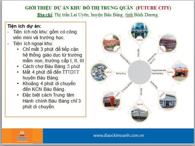 Đất nền thổ cư Trung tâm hành chính, KCN Bàu Bàng
