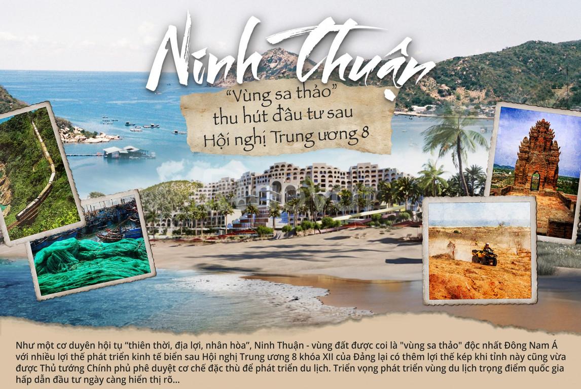 Đất nền sổ đỏ Biển Ninh Thuận, cạnh cảng Quốc tế chỉ 868tr/nền