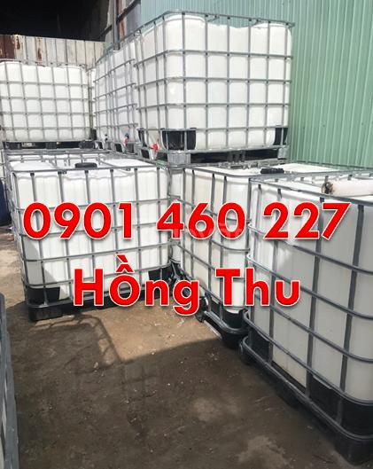 Tank nhựa cũ 1000 lít ,thùng nhựa qua sử dụng 1000 lít TPHCM