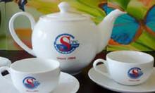 Bộ ấm trà in logo làm quà tặng tại Quảng Ngãi