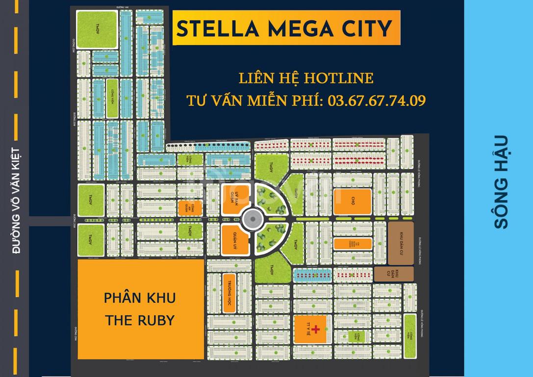 Stella Mega City (KDC Ngân Thuận cũ) – Mở bán phân khu Ruby – Giá hời