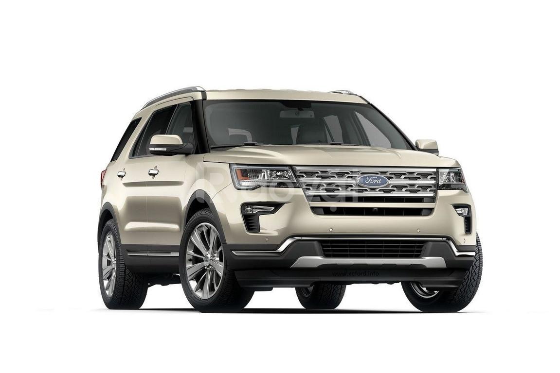 Ford Explorer 2018 giãm giá cả trăm triệu đồng