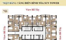 Tây Hồ Residence 68A Võ Chí Công,gần Hồ Tây chỉ 3.8tỷ/căn góc 3PN 95m2
