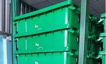 Xe đẩy rác 1000 lít giá sỉ, sản xuất xe thu gom rác 660L tại TPHCM