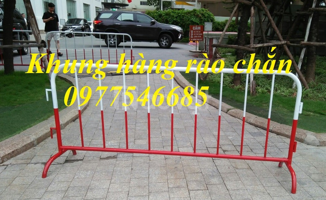 Khung hàng rào di động , hàng rào chắn