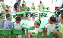 Cung cấp bàn ghế nhựa mầm non cho trẻ em giá rẻ, chất lượng cao