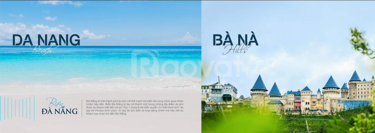 Bán đất mặt tiền đường 7m5 - các biển Nguyễn Tất Thành 300m