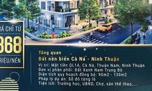 Sở hữu đất nền mặt tiền QL1 A ngay Biển Cà Ná - Ninh Thuận